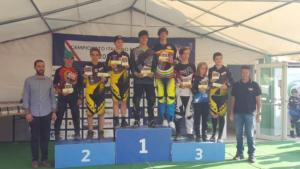 Premiazione Esordienti BMX (Fendoni campione italiano)
