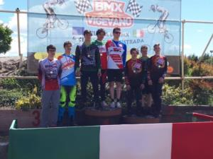 Podio BMX Allievi